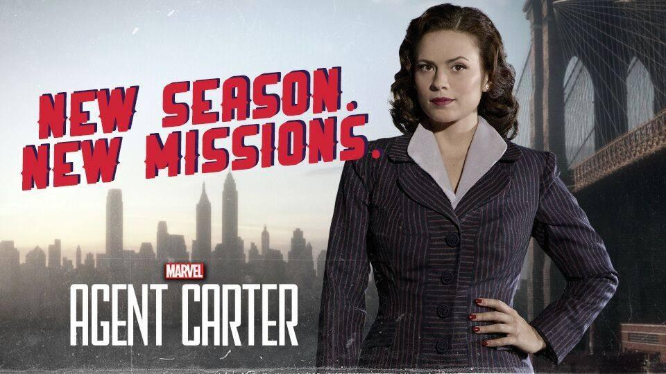 Nuevas promos de Agent Carter
