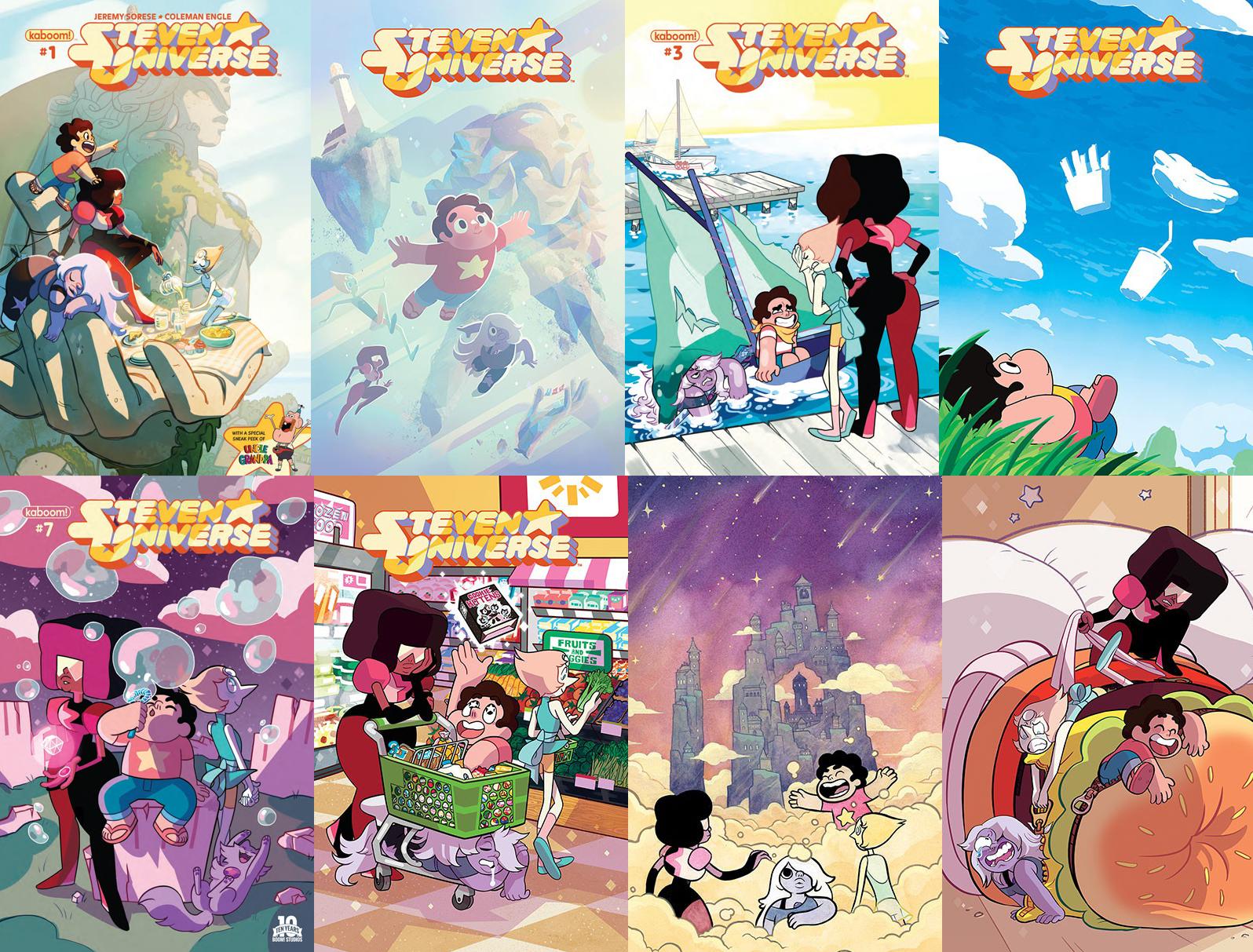 ¡Más cómics de Steven Universe se aproximan!