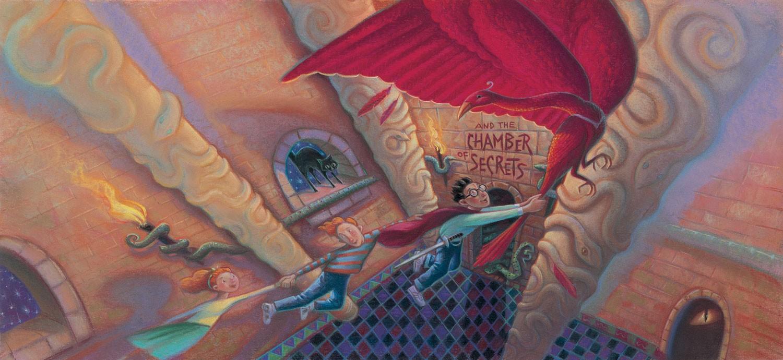 J.K Rowling nunca creyó que La Cámara Secreta tendría tanto éxito como su primer libro