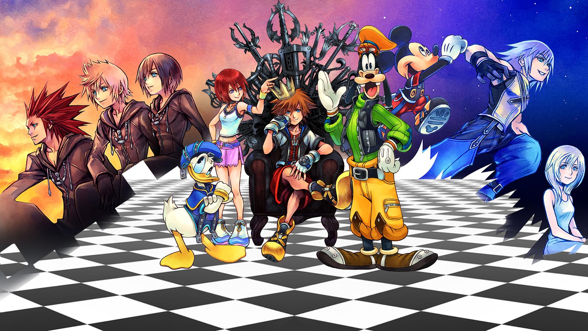 ¿Una serie animada de Kingdom Hearts? Casi, pero no