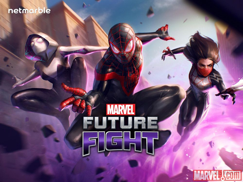 Las Arañas invaden Marvel Future Fight