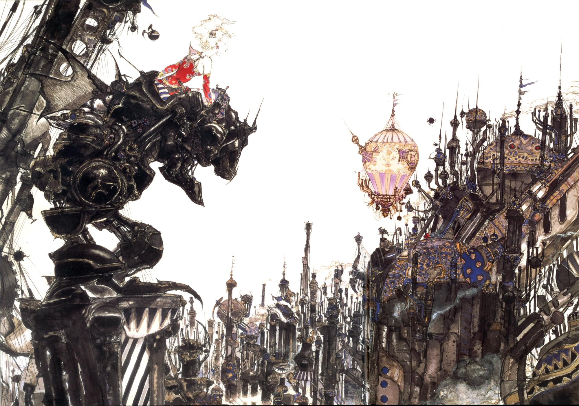 Final Fantasy VI llegó a Steam