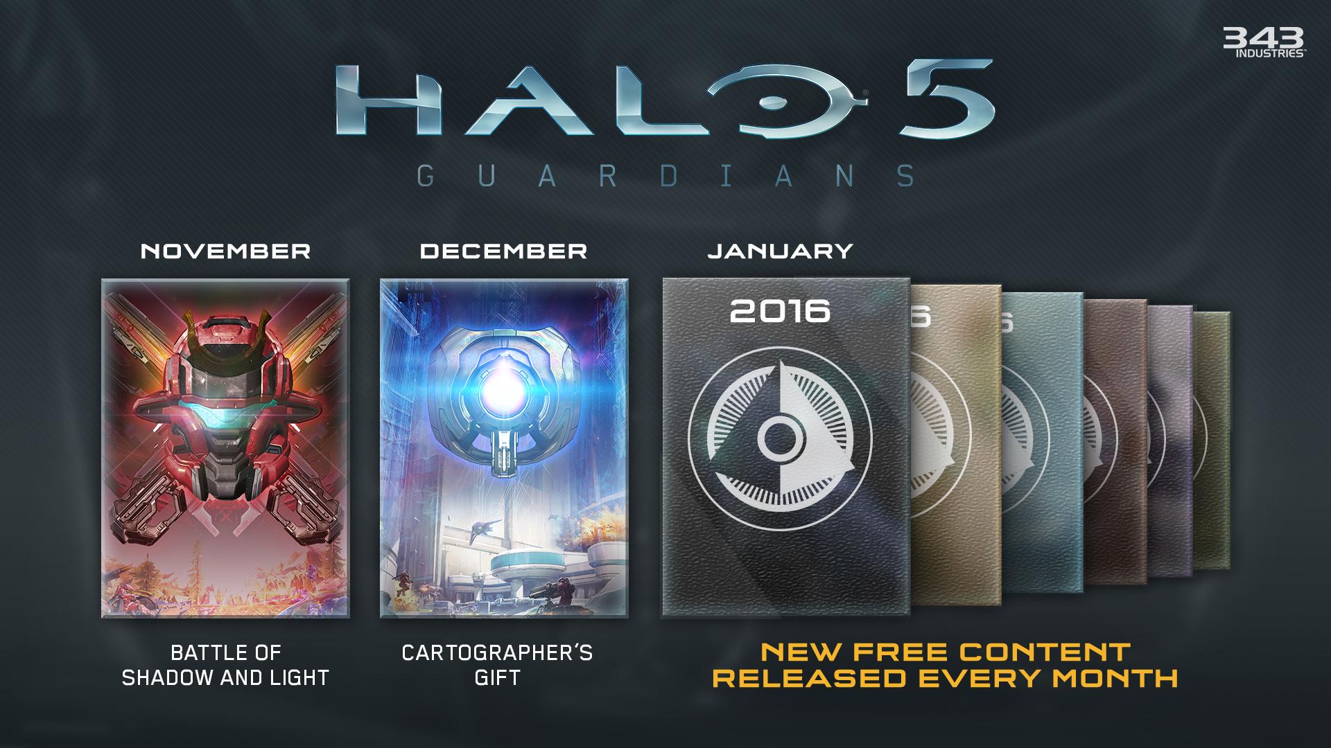 Game Awards '15: Nuevo contenido para Halo 5