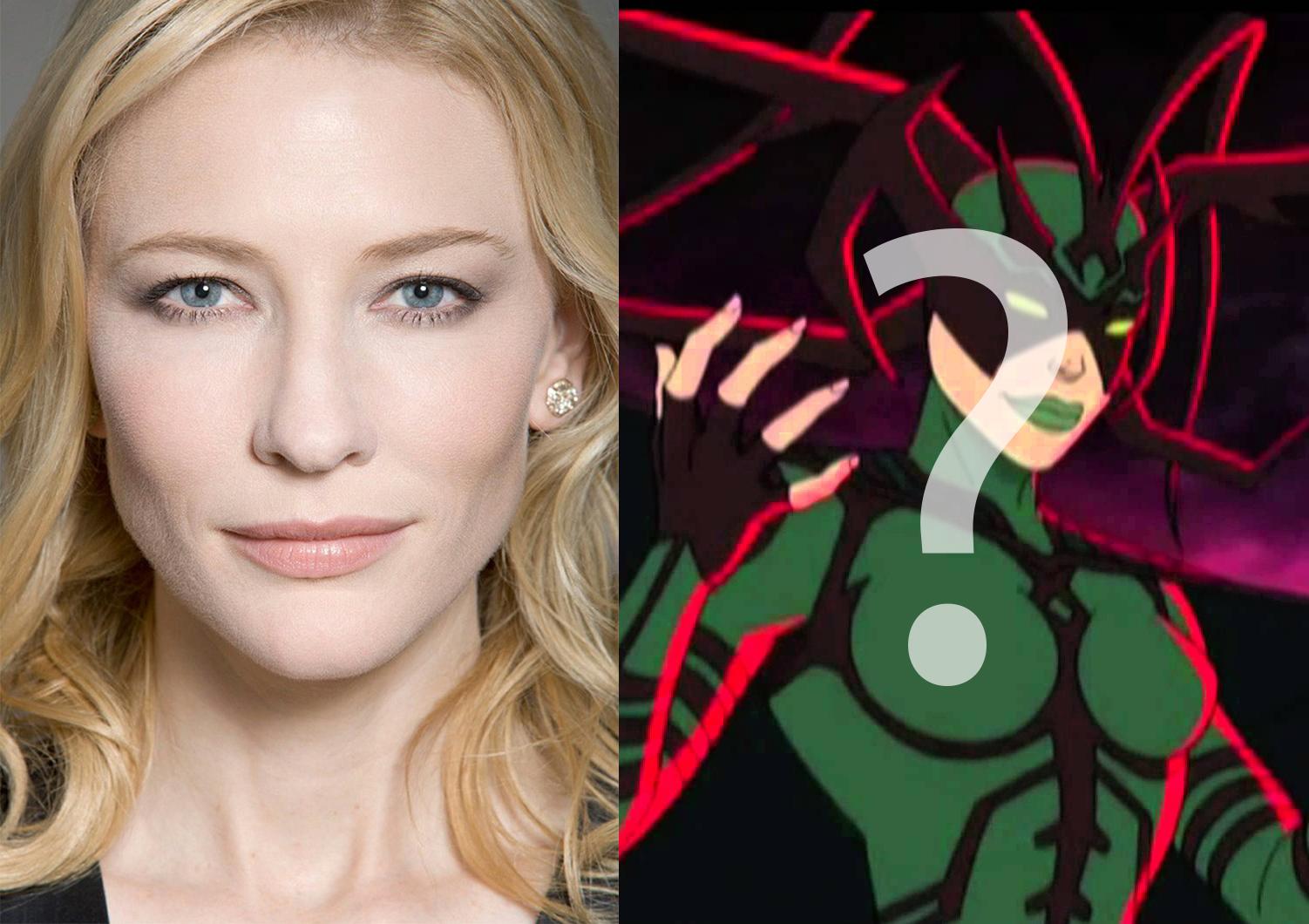¿Cate Blanchett se une al universo cinematográfico de Marvel?