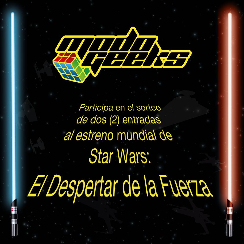 Star Wars El Despertar De La Fuerza Doblada: Concurso: Premiere Star Wars: El Despertar De La Fuerza