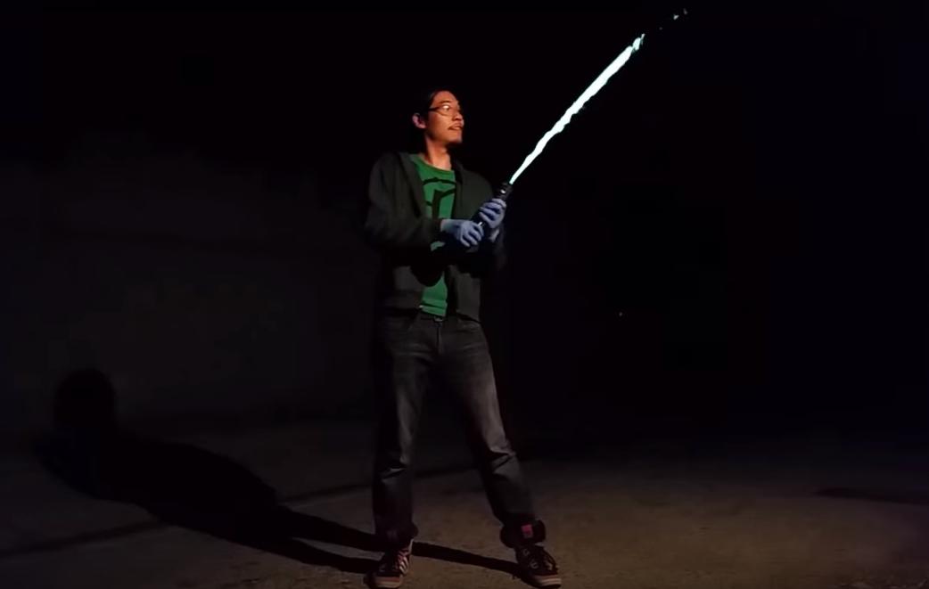 ¿Un sable de luz real? Una aproximación más factible