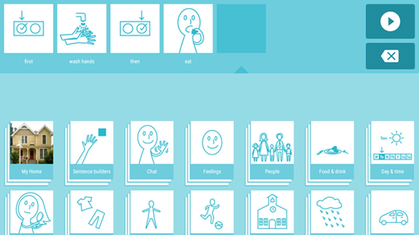 SwiftKey Symbol, el chat para gente no verbal