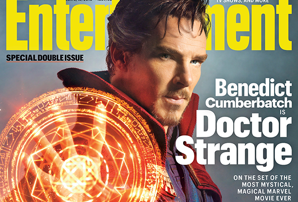 Primer vistazo oficial de Benedict Cumberbatch como Doctor Strange