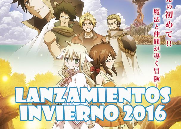 Estrenos Anime (Edición Invierno 2016)