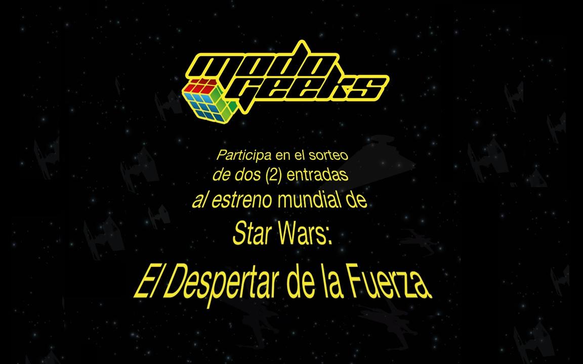Sorteo: Premiere Star Wars: El Despertar de la Fuerza – Facebook