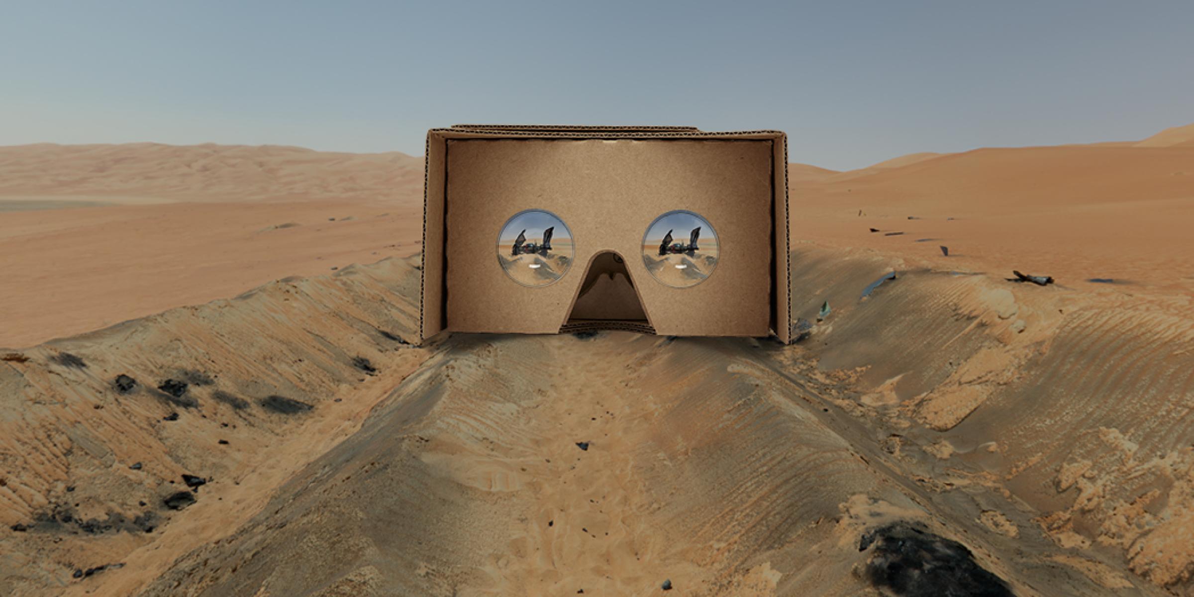 Viaja por Jakku con Star Wars y Google Cardboard