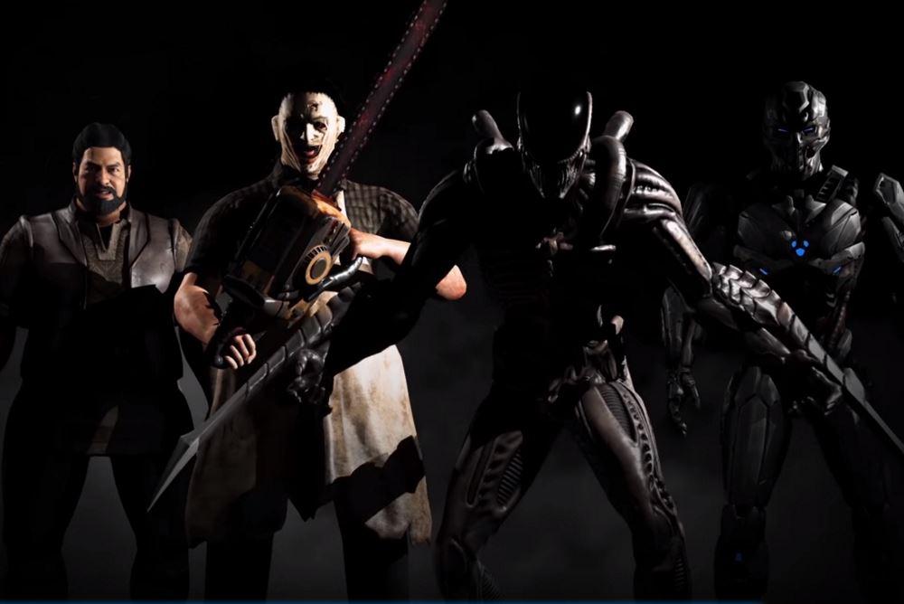 Game Awards '15: Leatherface y el Xenomorfo en Kombat Pack 2