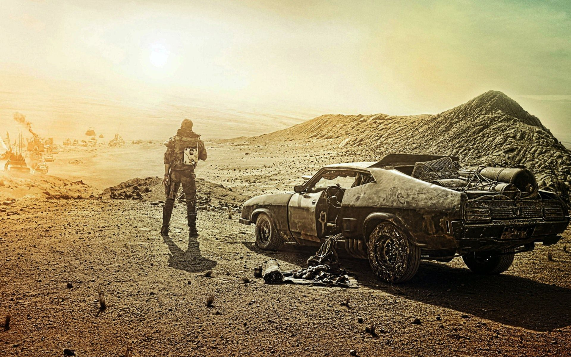 ¿Mad Max Fury Road en blanco y negro para 2016?