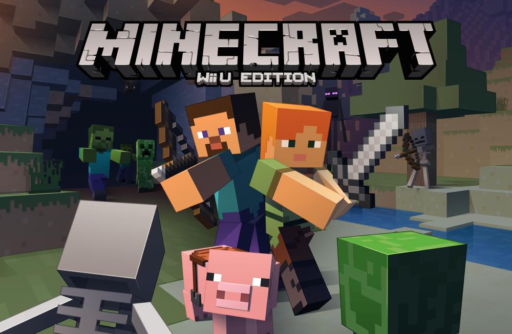 ¡2 días para Minecraft: Wii U Edition!