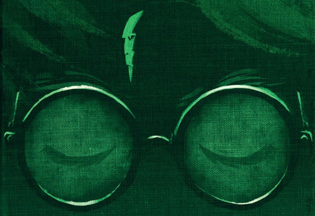 Olly Moss diseña nuevas portadas para e-books de Harry Potter