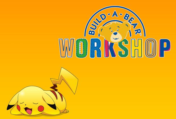 Pikachu llega a Build-a-Bear Workshop y más abrazable que nunca