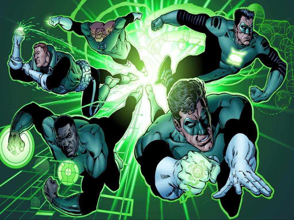 ¿Hal Jordan y John Stewart como protagonistas de Green Lantern Corps.?