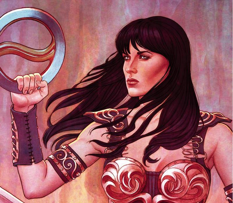 Nuevo comic de Xena: Warrior Princess debuta en abril