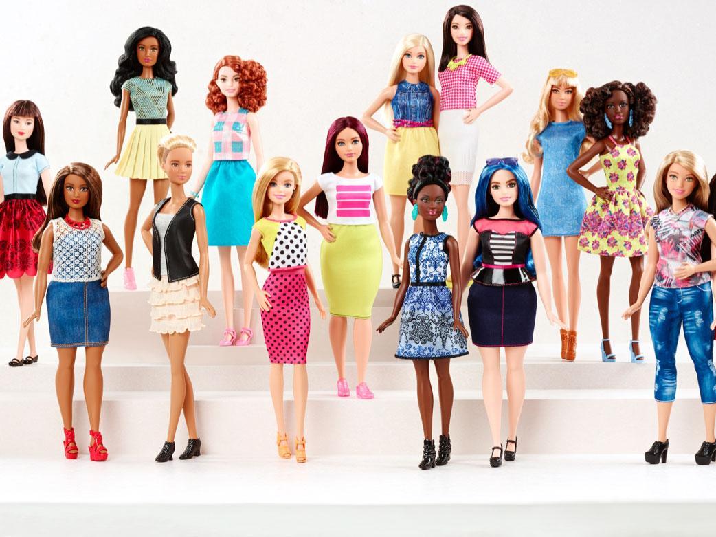 Barbie ahora viene en todos los tamaños