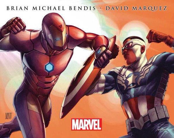 Captain Marvel vs Iron Man se enfrentarán en Civil War II
