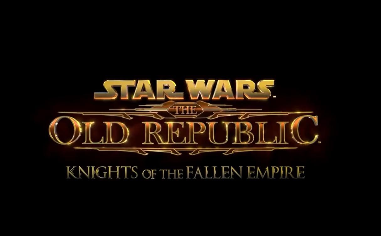Knights of the Fallen Empire ya tiene fecha para Star Wars: The Old Republic