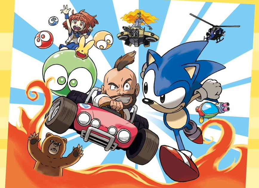 ¡Clásicos 3D de Sega para Nintendo 3DS!