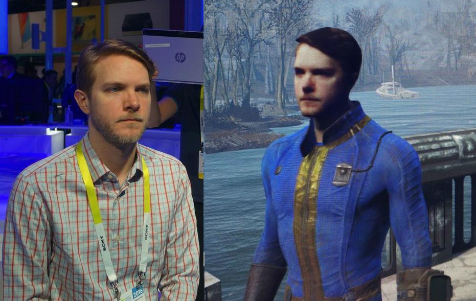 CES 2016: Pon tu cara en Fallout 4 con Intel y RealSense