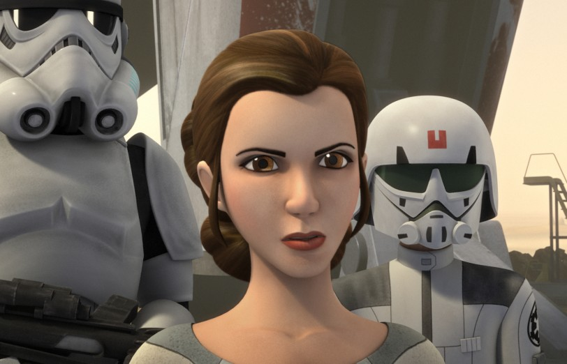 La Princesa Leia aparecerá en Star Wars Rebels