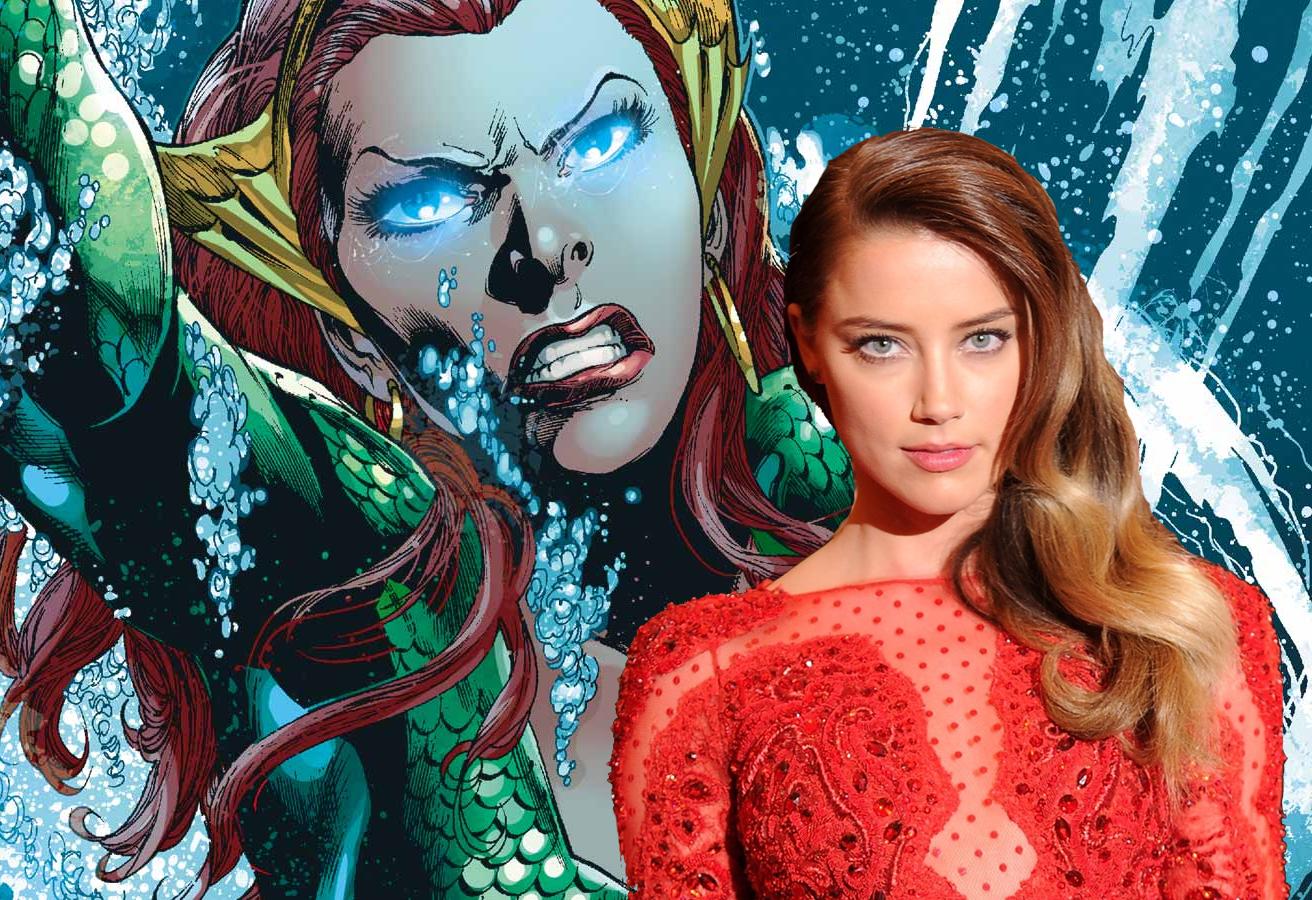 Amber Heard podría ser la Reina Mera en Aquaman