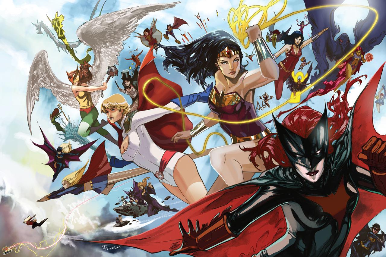 ¿Cuándo veremos una serie protagonizada por una superheroína en The CW?