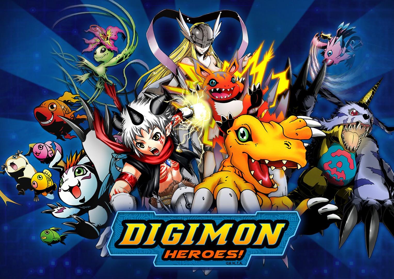 Bandai Namco publica juego de smartphone de Digimon