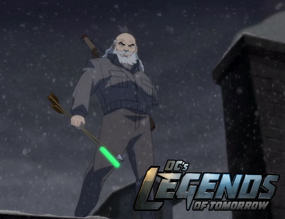 Así se verá el Green Arrow del futuro en Legends of Tomorrow