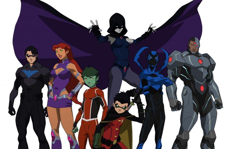 Revelado el elenco de Justice League vs Teen Titans