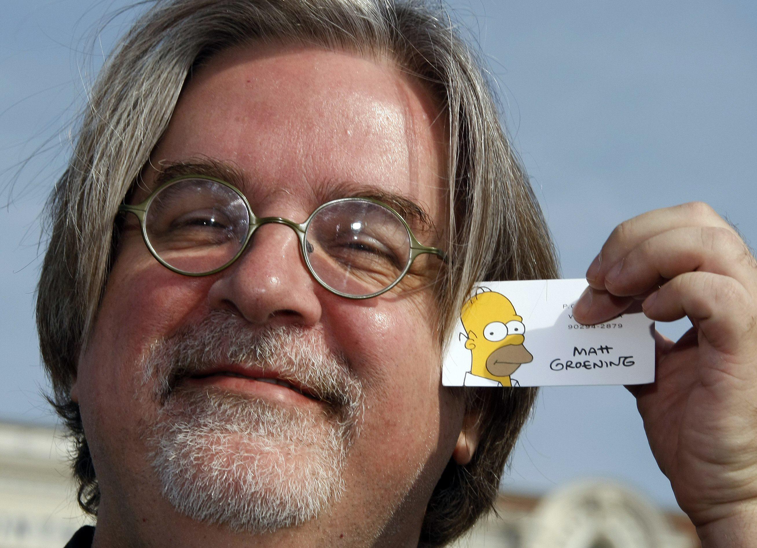 Matt Groening en conversaciones con Netflix para nueva serie animada