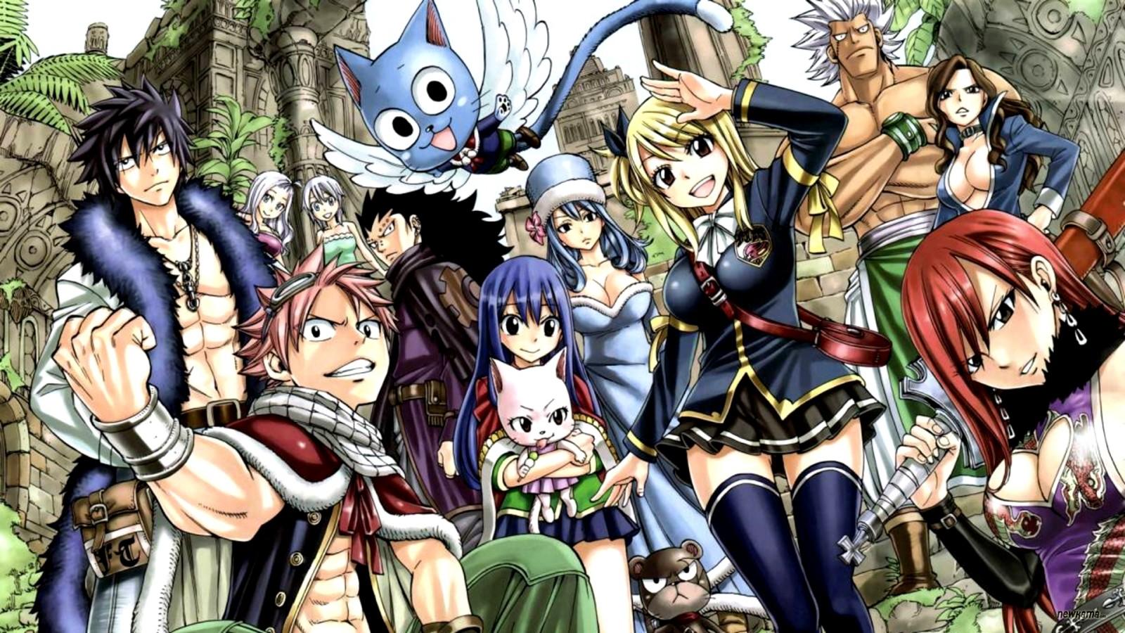 Se revela nueva imagen y reparto de obra de teatro de Fairy Tail