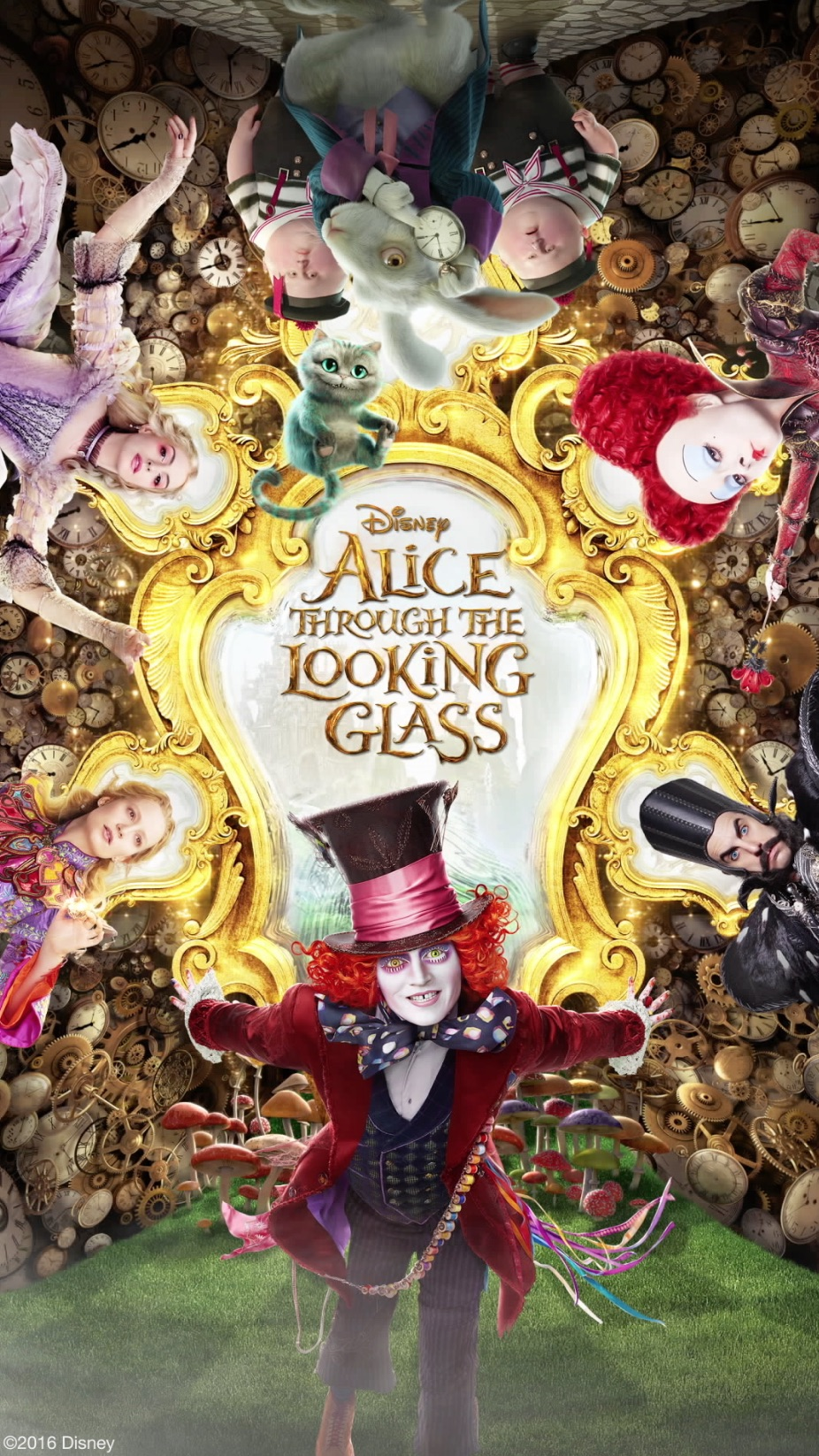 Alice Through The Looking Glass Poster 2 Modogeeks