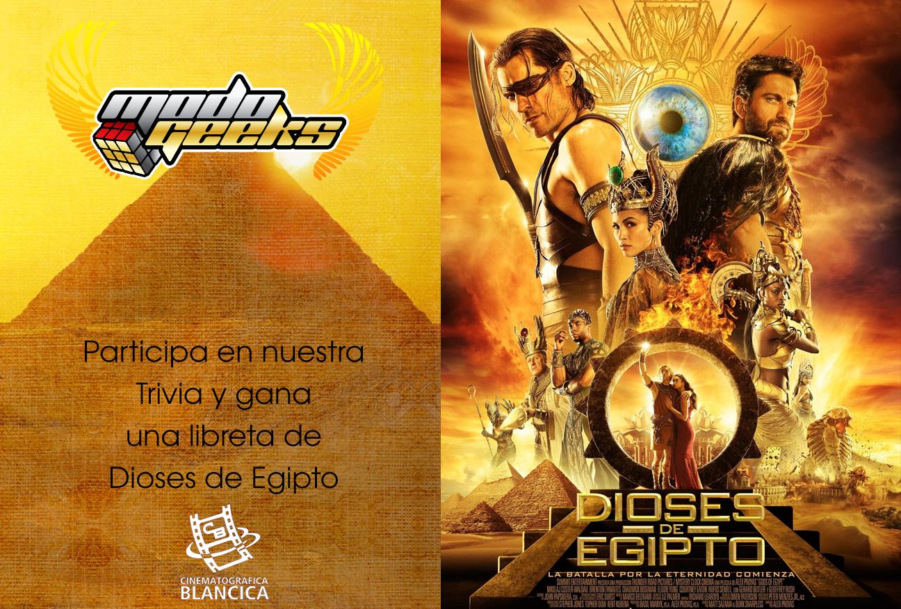 Trivia: Dioses de Egipto – Twitter