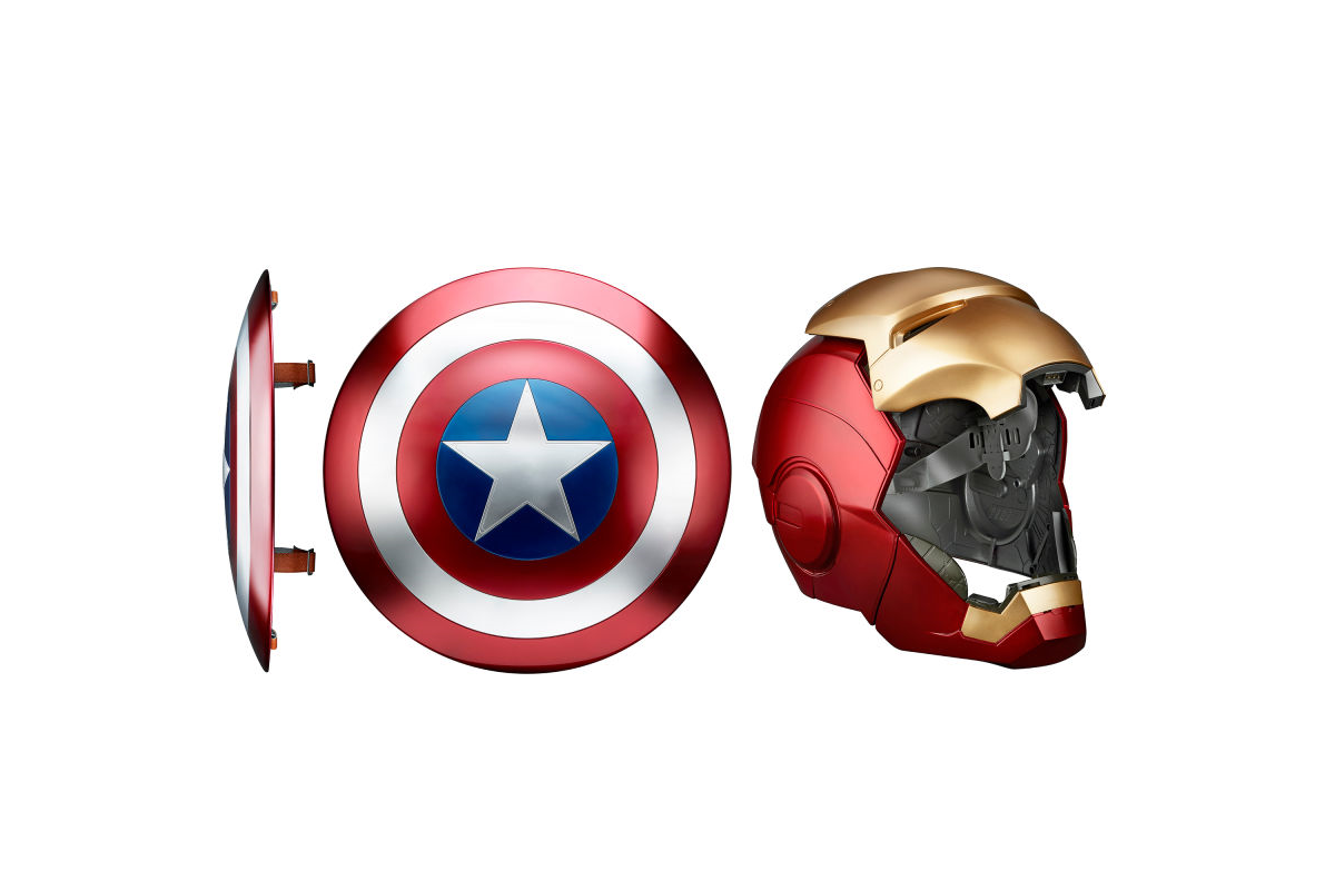 Hasbro presenta línea de réplicas económicas de Marvel