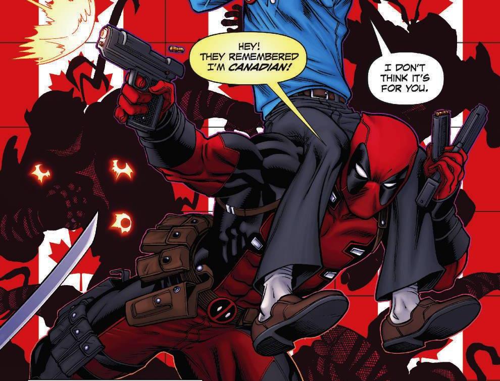 Fans canadienses quieren estatua en ciudad natal de Deadpool