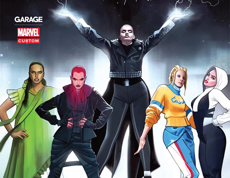 Marvel colabora con Garage Magazine con portadas de modelos como superheroínas