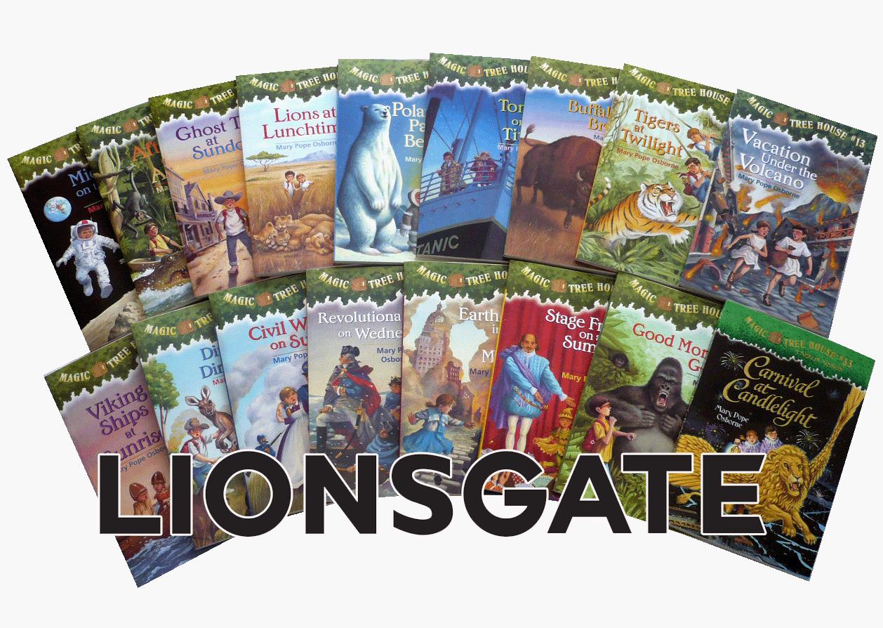 Lionsgate adquiere derechos de Magic Tree House para varias películas
