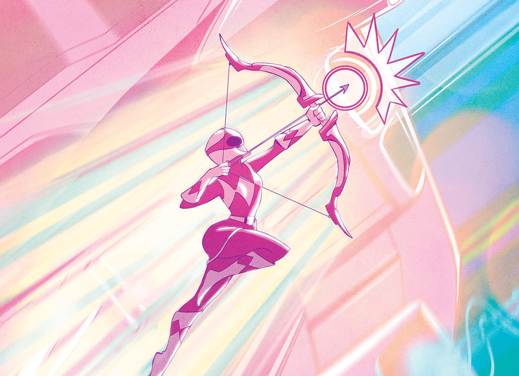 La Pink Ranger obtiene su propio spin-off de seis tomos