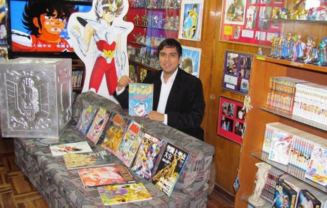 Regresa al Perú el Record Guinness por la colección más grande de Saint Seiya