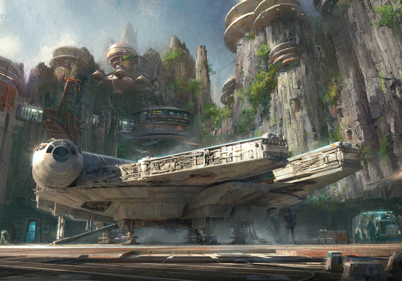 Harrison Ford develará las nuevas atracciones del parque de Star Wars