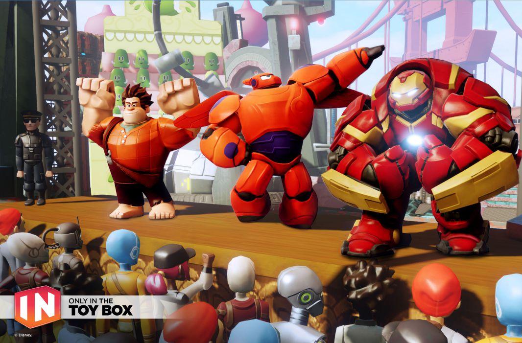 Ant-Man, Vision y Black Panther llegan a Disney Infinity