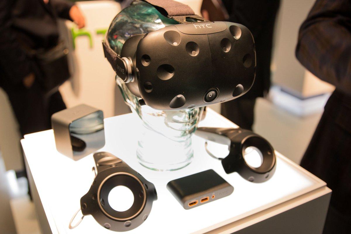HTC Vive llegará a sus destinos desde el mes de abril