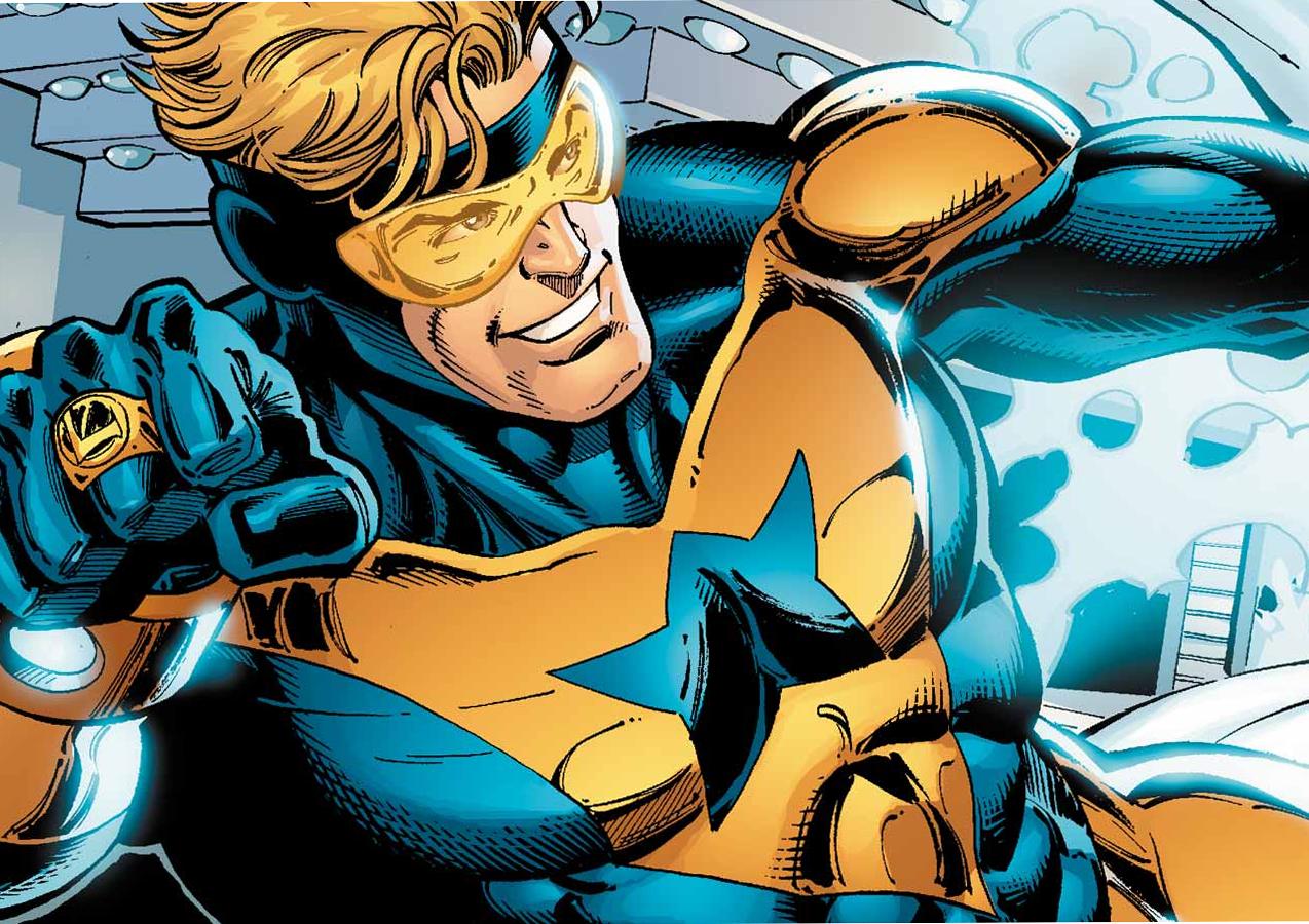 Geoff Johns dice que DC tiene planes para Booster Gold
