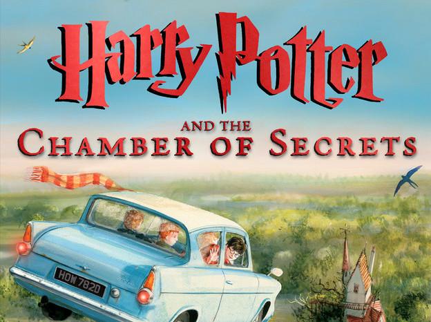 Nueva versión ilustrada de Harry Potter y la Cámara Secreta