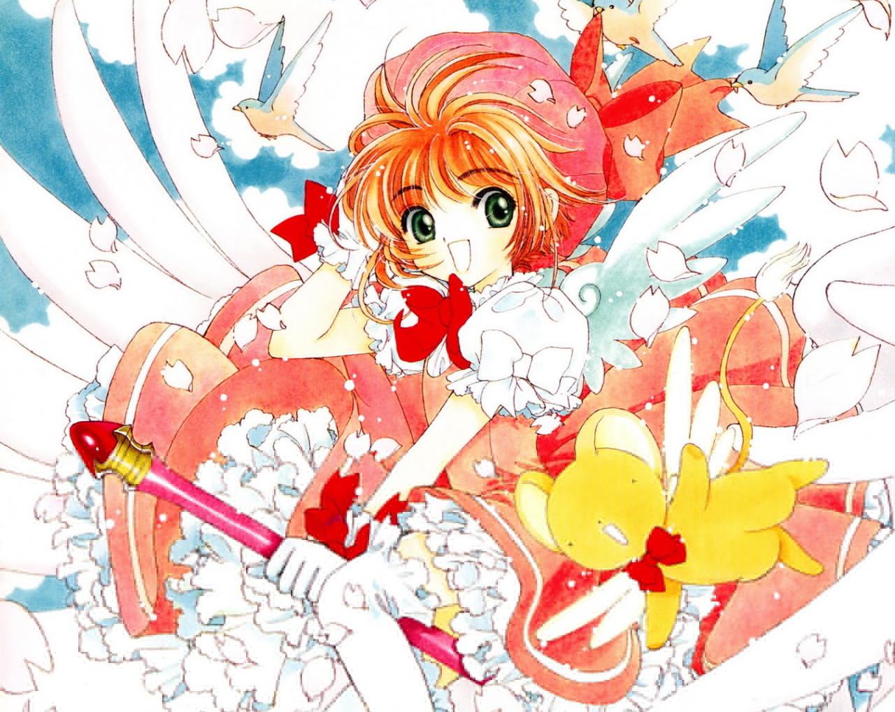 CLAMP publicará un nuevo manga de Card Captor Sakura