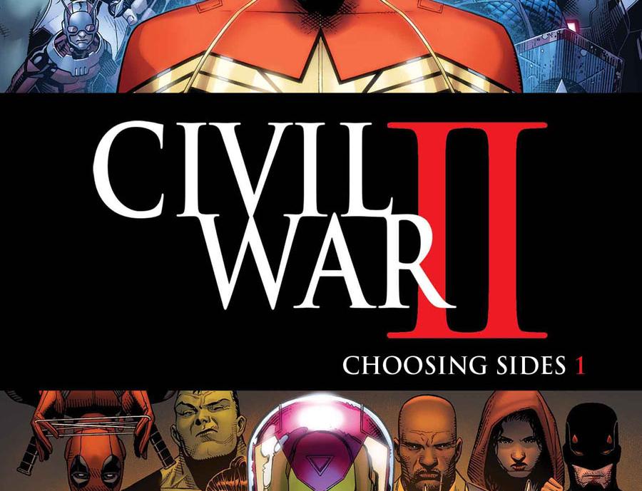 C2E2 2016: Marvel revela títulos relacionados para Civil War II
